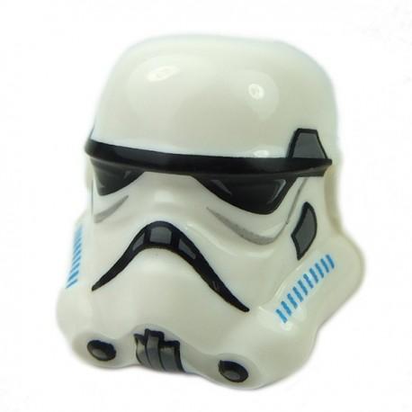 Lego - White Helmet SW Stormtrooper, Dark Azure & DBG (Rebels Cartoon Style)