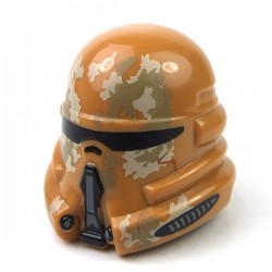 Lego - Helmet SW Airborne Clone Trooper with Tan & Dark Tan Camouflage