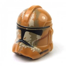 Lego - Helmet SW Clone Trooper with Tan & Dark Tan Camouflage