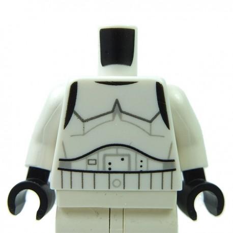 Lego Accessoires Minifigure Torse Star Wars SW Stormtrooper (Rebels Cartoon Style)