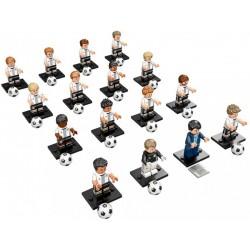 LEGO Minifigure Serie Euro 2016 - 16 minifigures - 71014 - Die Mannschaft DFB