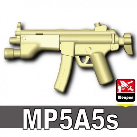 Lego Accessoires Minifig Custom Si-Dan Toys - MP5A5s (Beige)