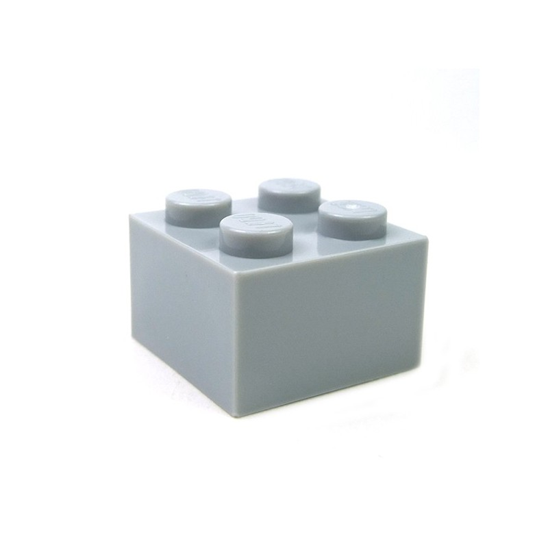 Tile 2 x 2 with Newspaper /'OLD TIMES/' Pattern Light Bluish Gray LEGO