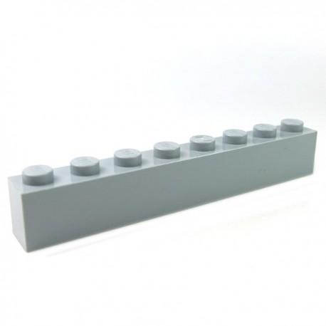 LEGO - Brique 1x8 (Light Bluish Gray)