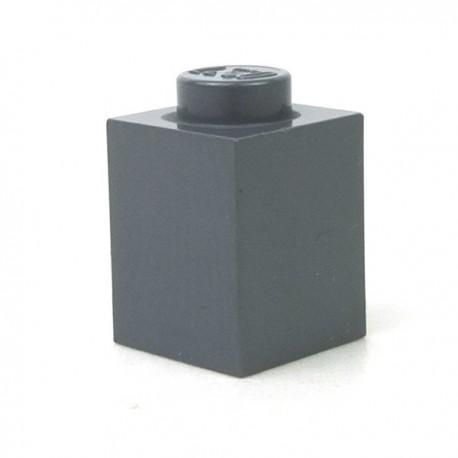 LEGO - Brique 1x1 (Dark Bluish Gray)