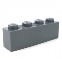 LEGO - Brique 1x4 (Dark Bluish Gray)
