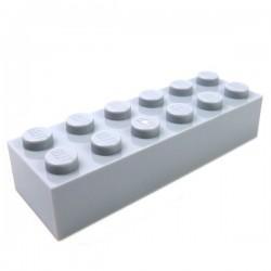 LEGO - Brique 2x6 (Light Bluish Gray)