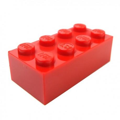 LEGO - Brique 2x4 (Rouge)