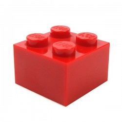 LEGO - Brick 2x2 (Red)