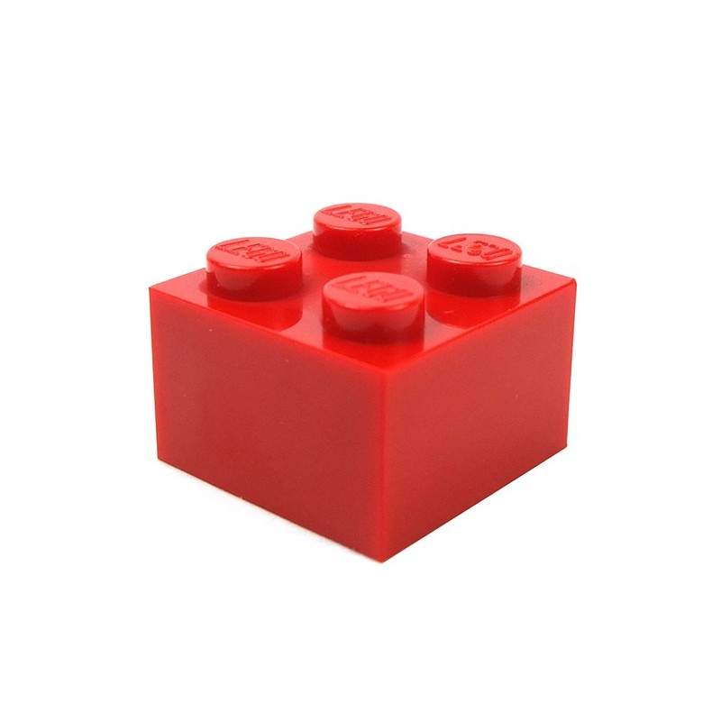 LEGO Red Brick 2x8 10 to 100 Pieces