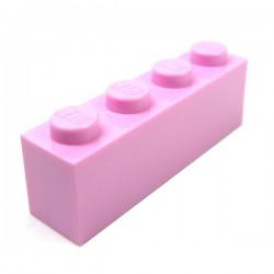 LEGO - Brique 1x4 (Bright Pink)