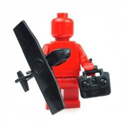 Lego Accessoires Minifig Custom Si-Dan Toys - UAV SWAN (Noir)
