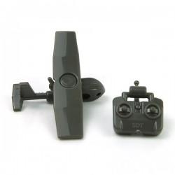 Lego Accessoires Minifig Custom Si-Dan Toys - UAV SWAN (Deep Gray Green)