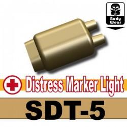 Lego Minifig Si-Dan Toys - Distress Marker Light (SDT-5) (Beige Foncé)