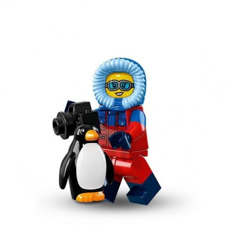 LEGO Minifig - La Photographe Animalière