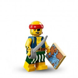 LEGO Minifig - Scallywag Pirate