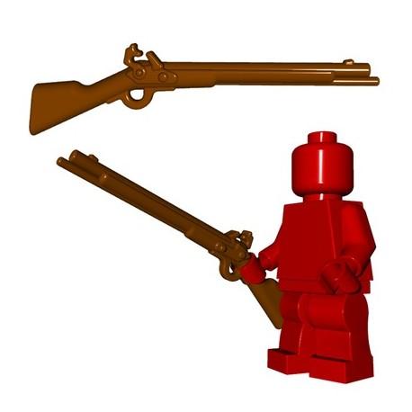 *NEW* 10 Pieces Lego Minifig Weapon Gun Flintlock Pistol Brown