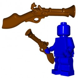 Lego Minifig BrickWarriors - Tromblon (Marron)