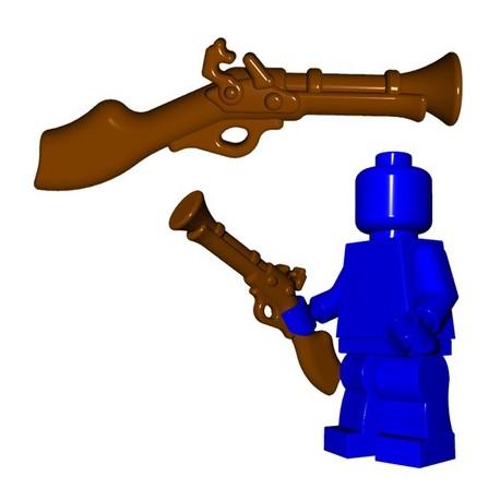 Lego Minifig BrickWarriors - Tromblon (Marron)