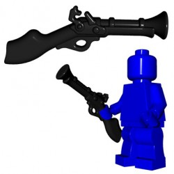 Lego Minifig BrickWarriors - Tromblon (Noir)