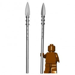 Lego Minifig BrickWarriors - Brochet (Steel)