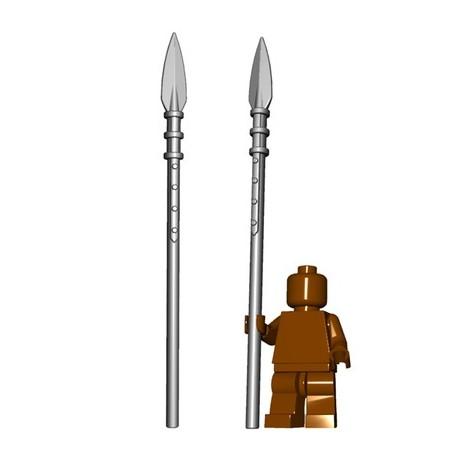Lego Minifig BrickWarriors - Brochet (Steel)