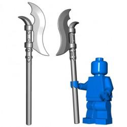Lego Minifig BrickWarriors - Voulge (Steel)