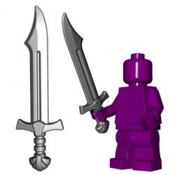 Lego Minifig BrickWarriors - Falchion (Steel)