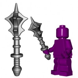 BrickWarriors - Flanged Mace (Steel)