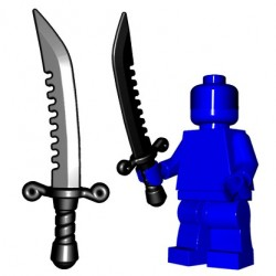 BrickWarriors - Breaker Sword (Black)