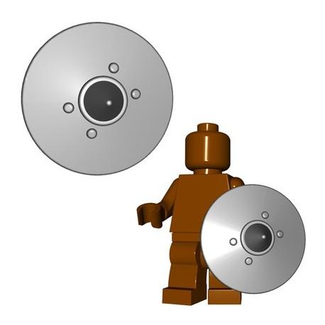 Lego Minifig BrickWarriors - Bouclier de Thrall (Steel)