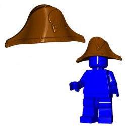 Lego Minifigures BrickWarriors - Bicorne (Marron)