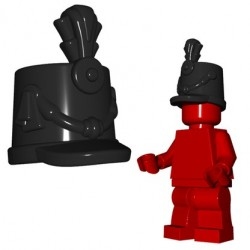 Brick Warriors - British Shako (Black)