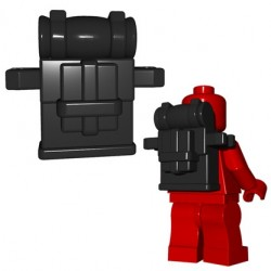 BrickWarriors - British Knapsack (Black)