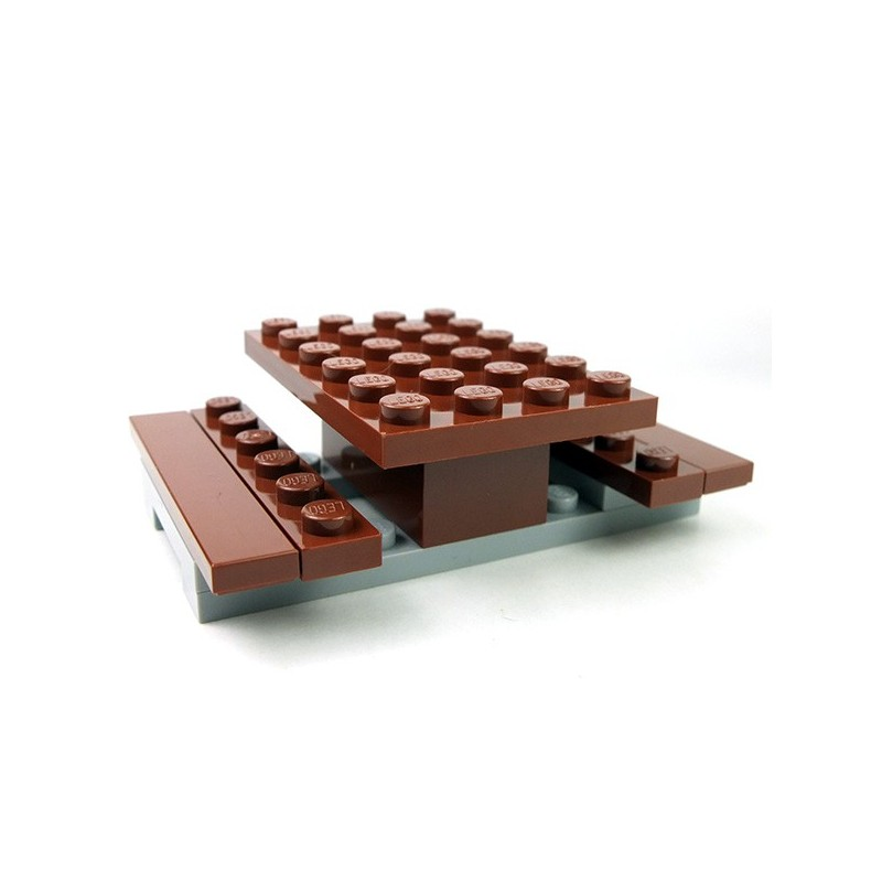 lego accessoires minifig table de pique nique. Black Bedroom Furniture Sets. Home Design Ideas