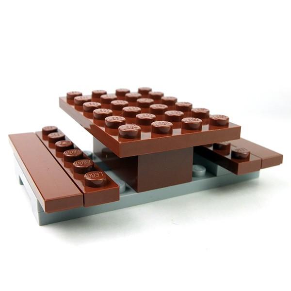 Lego Accessories Minifigure Picnic table