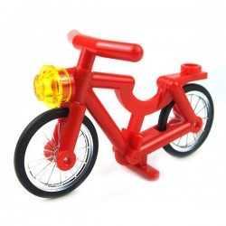 Lego - Vélo Bicyclette rouge (minifigure)