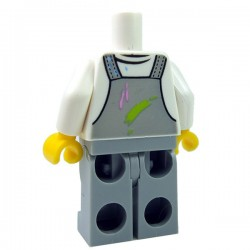 Lego - Torso + Legs - Overall painter