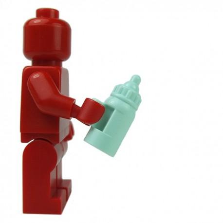 Lego Minifig - Biberon avec poignée (Light Aqua)