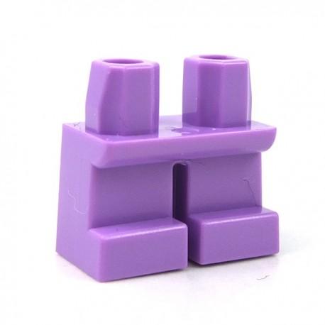 LEGO Minifigure - Jambes courtes (Medium Lavender)
