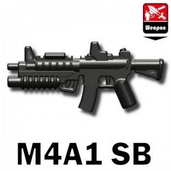 Lego Minifig Si-Dan Toys - M4A1 SB (Pearl Dark Black)