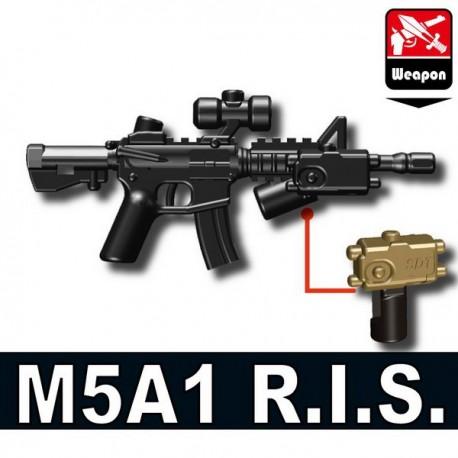 Lego Mionifig Si-Dan Toys - M5A1 R.I.S. (Pearl Dark Black)