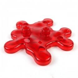 Lego Minifigure Si-Dan Toys - Liquide (Rouge transparent)