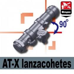 Lego Minifig Si-Dan Toys - Lanzacohetes (AT-X) (Dark Bluish Gray)