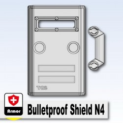 Si-Dan Toys - Bulletproof Shield N4 (Trans-Clear)