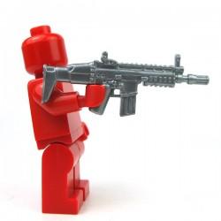 Lego Accessoires Minifigure Si-Dan Toys - SCAR-D (Flat Silver)