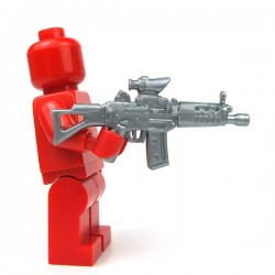 Lego Minifigure Si-Dan Toys - SG552-S (Flat Silver)