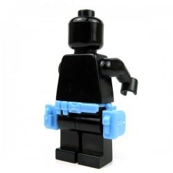 Lego Accessoires minifigure Custom Si-Dan Toys - Ceinture Tactical G3 (Bleur Clair)