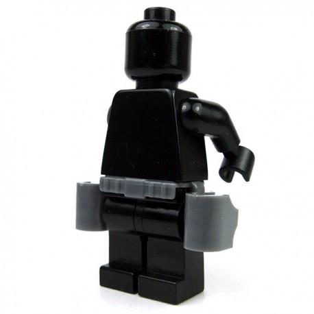 Lego Accessoires minifigure Custom Si-Dan Toys - Ceinture G6 Tactical (Dark Bluish Gray)