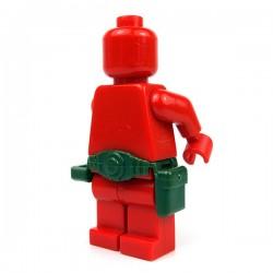 Lego Accessoires minifigure Custom Si-Dan Toys - Ceinture Tactical USF-M2a (Vert Militaire)